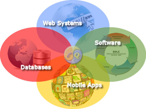 e-QualIT: Experienced development of web systems, mobile apps, database systems and custom software.